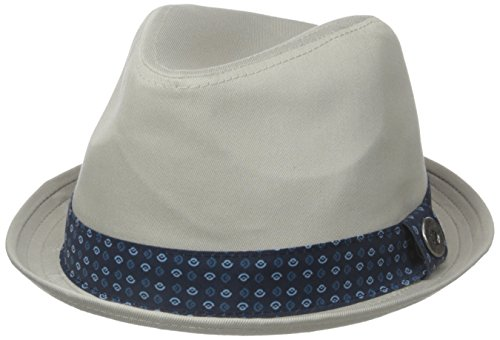 Ben Sherman Men's Stingy Brim Trilby, Stone, Small-Medium