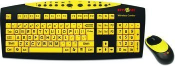 Keys-U-See With Wireless Keyboard and Mouse