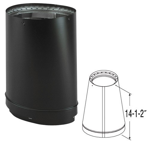 - 6'' DVL Oval-to-Round Adapter - 8670 - Ducting Components - Amazon.com