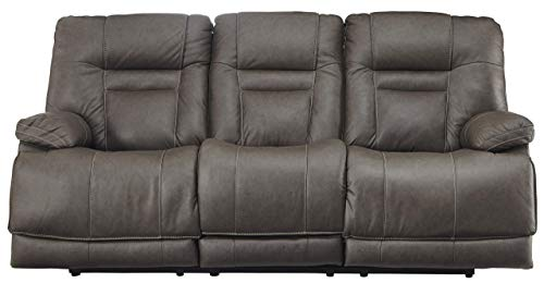 - Signature Design by Ashley U5460215 Wurstrow Power Reclining Sofa, 85