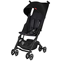 GB Pockit+ Plus Lightweight Ultra Compact Fold Baby Travel Stroller (Satin Black)
