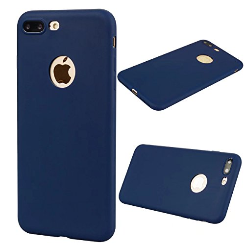 Funda iPhone 8 Plus 5.5 Carcasa ,lindo caramelo dulce de color Case Cover, TPU Protección individual contra golpes Dibujos Animados Silicona Suave Funda para Apple iPhone 8 Plus 5.5