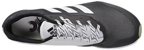 adidas Performance Herren XCS Laufschuhe Schwarz / Weiß / Solar Gelb