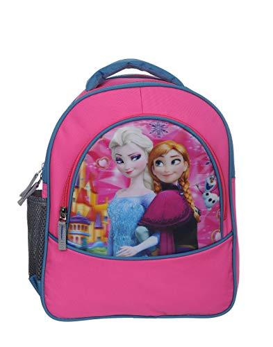 Rozen Waterproof Frozen School Bag { for Kids Nursery LKG firozi }