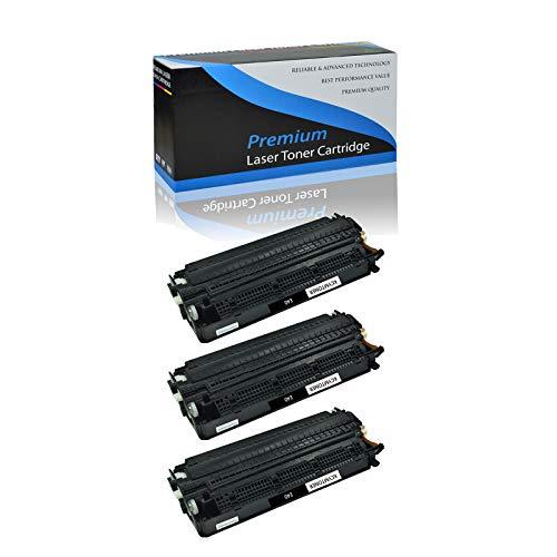 KCMYTONER 3PK Compatible Canon E40/E20 Toner Cartridge 1491A002AA E40 High Yield Black for FC-100 FC-120 FC-200 FC-220 FC-336 FC-500 PC140 PC150 PC160 PC170 PC210 PC230 PC300 PC310 PC320 PC325 Printer