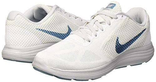 Nike 7 Da hellblau Uomo Ginnastica Scarpe Lunarglide Weiss arqwa