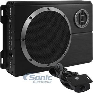 Sound Storm LOPRO8 Amplified Car Subwoofer - 600 Watts Max Power