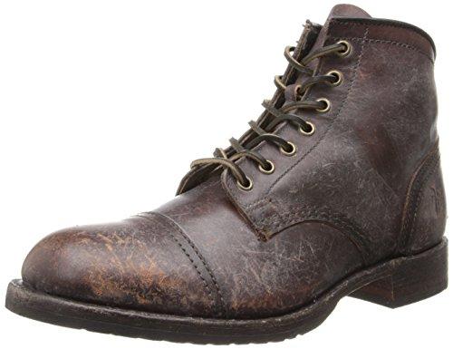 FRYE Men's Logan Cap Toe BootWhiskey8.5 M US (Logan Boots Frye)