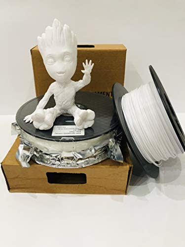 3DKast 1.75mm Pla 3D Printer Filament (white)