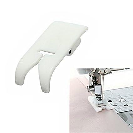 Prensatela para coser edredones y patchwork con guía de borde para máquinas