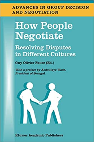 Download Epub Free How People Negotiate: Resolving Disputes in Different Cultures