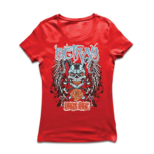 lepni.me Women's T-Shirt Betray Dark Side - Gothic