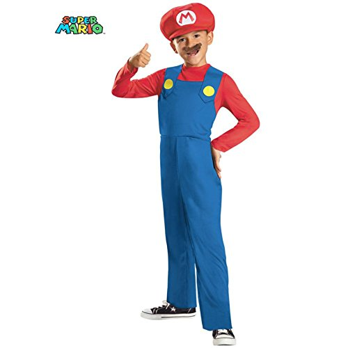 Mario and Luigi Classic Costume - Small