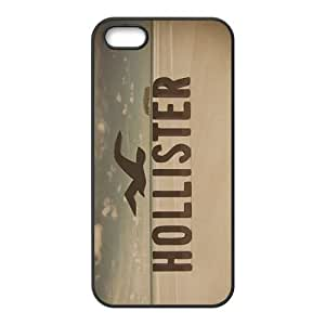 Happy Hollister Fashion Comstom Plastic case cover For Iphone 5s