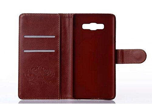 caja del teléfono celular del caso del tirón de Samsung Galaxy A7 SM-A700F dueño de Mini soporte atril EE.UU. NUEVA YORK