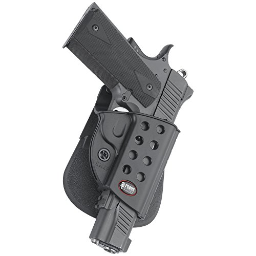 Fobus-Standard-Holster-RH-Paddle-R1911-1911-style-with-rails-Kimber-TLERL-Springfield