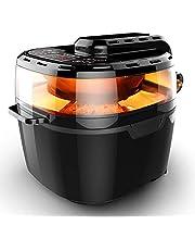 VPCOK Heißluftfritteuse, Fritteuse ohne Öl, viele Zubehör (1200W, 10L) (MEHRWEG)