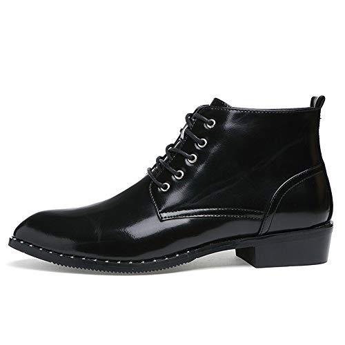 Negro Ocasionales Zapatos Oxford Negocios 40 shoes de Invierno Informales Fang 2018 para Negro Color Hombres tamaño Casual Zapatos Hombre Nuevo EU Otoño Oxford wBqAnfS