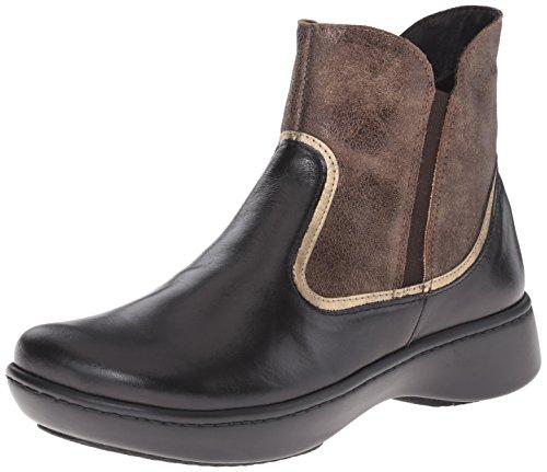 Black Women's Brass Suede Bronze Leather Naot Madras Surge Leather Boot Shimmer qZwxFFRd