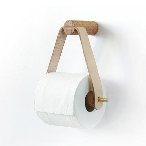 - Shelfhx Nordic Creative Wooden Roll Holder Bathroom Storage Paper Towel Dispenser Toilet Paper Holder Box Bathroom Accessories