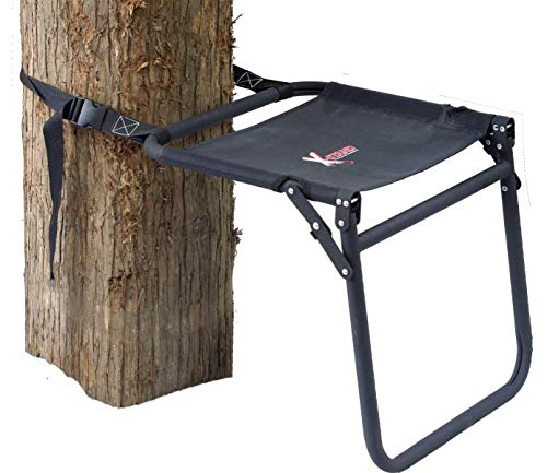 X-Stand Treestands Portable Ground Seat Portable Hunting Tree Stand Ground Seat, Black