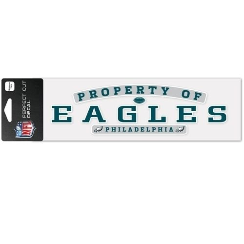 PHILADELPHIA EAGLES NFL FOOTBALL PERFECT CUT DECALS 3x10 NEW ITEM