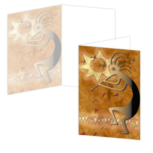 ECOeverywhere Fertility Glyph Boxed Card Set, 12 Cards and Envelopes, 4 x 6 Inches, Multicolored (bc49000)