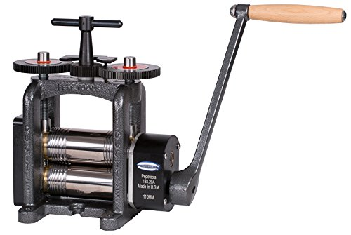 PepeTools Combination Rolling Mill 110 mm Wide Rollers Ultra Series Made in USA by Ultra