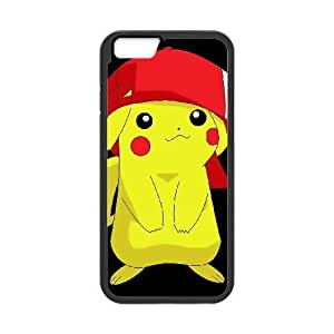 iphone6 4.7 inch Phone Cases Black Pikachu EWD889454
