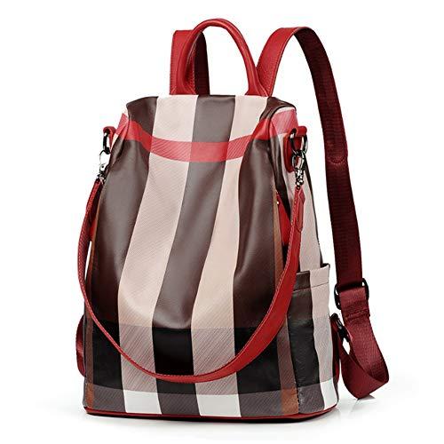 Alla Casuale Zainetto Scuola impermeabile Antifurto Borse A Daypack amp l  Lavoro Moda Spalla Donna Backpack Con Tracolla Zaino ... f8851595dd0