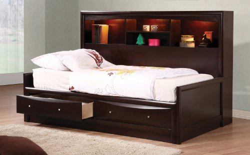 400410T Coaster Phoenix Daybed Cappuccino product image