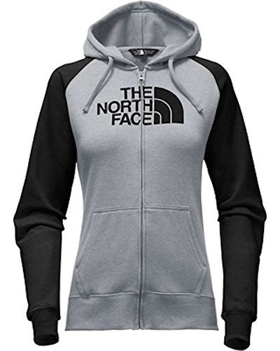 North Hoodie The Half Face Black Heather Womens Dome Medium Tnf Zip tnf Grey Full WFddCErwYq