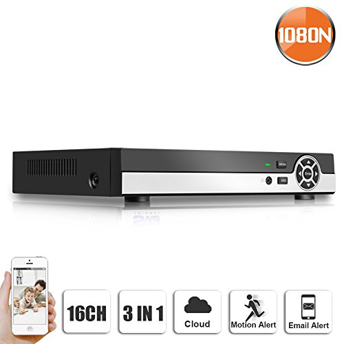 SW SWINWAY 4CH CCTV DVR Real Time Recording VGA/ HD Output Mobile Phone Monitoring H.264 Digital Video Recorder 1080N 3In1 DVR Hybrid Surveillance Security System
