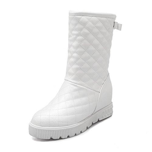 5 Stivali Eu Bianco Da Sconosciuto 1to9 Mns01553 Donna Neve white 35 AwnU4