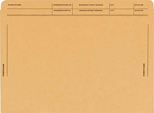EGP Heavy Duty Colored File Envelopes Printed (Tan)