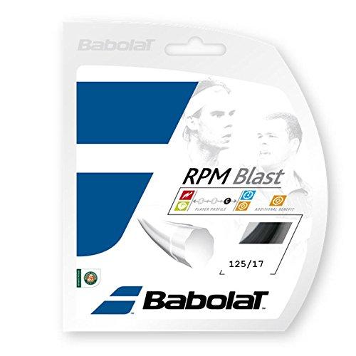 Babolat Tennissaite RPM Blast schwarz 1,25mm 12m [Ausrüstung]