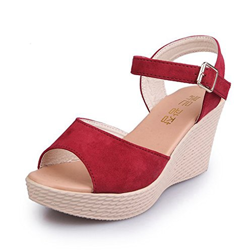 Womens Sandals Ladies Wedges Shoes Platform High Heels Open Toe Elegant Sandal