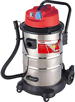 Mader 63353 Aspirador Polvo Y Liquidos INOX 1400W 50L: Amazon.es ...