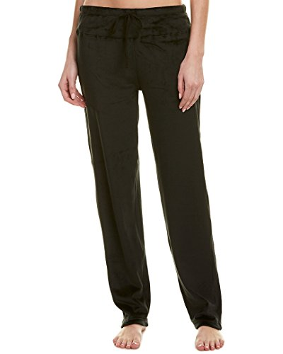 Womens Velour Lounge Pant - N Natori Women's Splendor Velour Pant, Black, Small