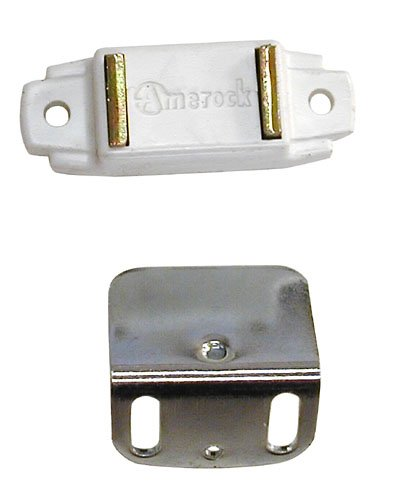 Amerock Magnetic Catch For Overlay Cabinet Door White - Amerock Magnetic Touch Latch