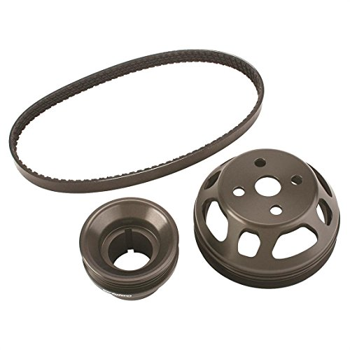 Speedway Underdrive Water Pump Pulley Set, Fits 2.3 Ford