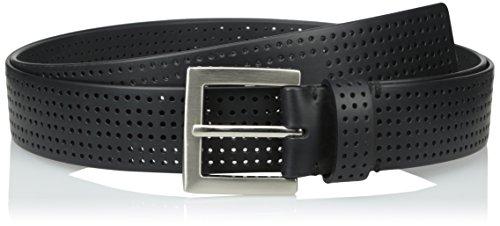 PGA TOUR Men's Big Perforated Silicone Performance Belt, Black, 52