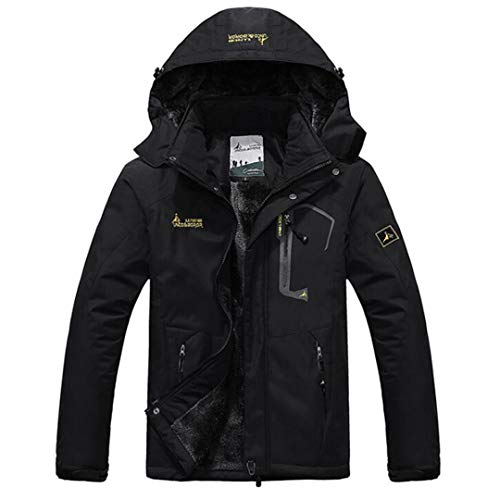 Kt Antivento Black Aperta Parka Velluto Caldo All'aria Da amp;jacket Uomo Giacche In Impermeabili SfSRrq