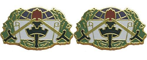 364th CA BDE USAR Distinctive Unit Insignia - Pair ()