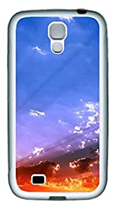 Samsung Galaxy S4 I9500 Cases & Covers - Sky View Sunset Custom TPU Soft Case Cover Protector for Samsung Galaxy S4 I9500 - White