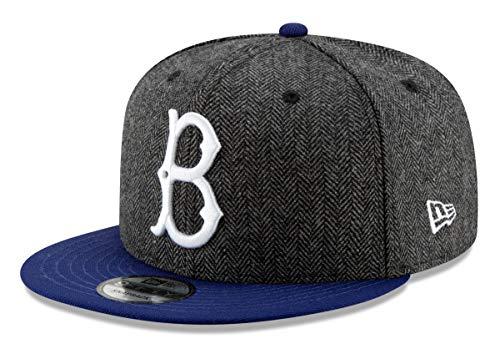 New Era Brooklyn Dodgers 9FIFTY MLB Cooperstown Pattern Pop Snapback Hat Brooklyn Dodgers New Era