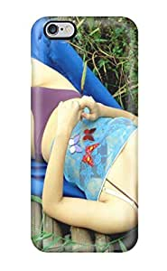 High Quality Shock Absorbing Case For Iphone 6 Plus-women Oriental People Women