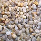 Carib Sea ACS00866 50-Pound Snowy River Gravel for Aquarium, 1/4-Inch