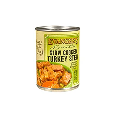 Evanger'S Signature Series Slow Cooked Turkey Stew For Dogs, 12-Ounce, 12-Pack
