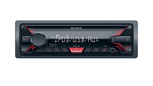Sony DSX-A200UI Mechaless Autoradio (USB, AUX Anschluss, MP3/WMA/FLAC, Apple iPod/iPhone Control Funktion) schwarz